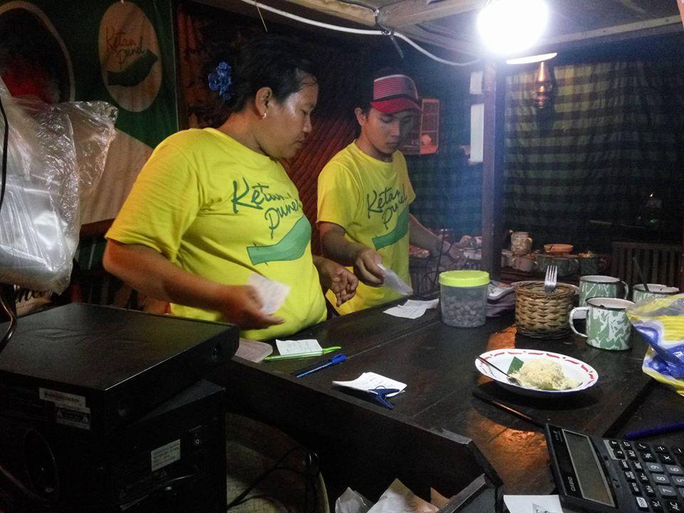 Menu Kedai Ketan Punel Surabaya