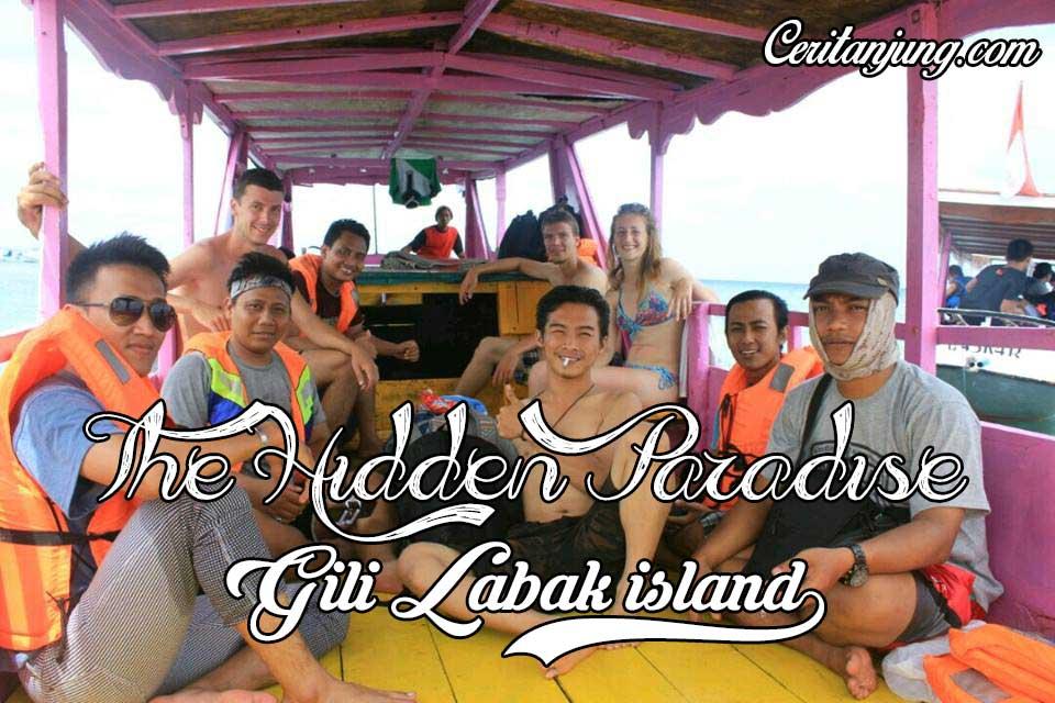 Perjalanan Pulau Gili Labak bersama Turis asal Jerman