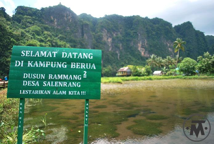 Pesona Kecantikan Karst Rammang-Rammang di Sulawesi Selatan