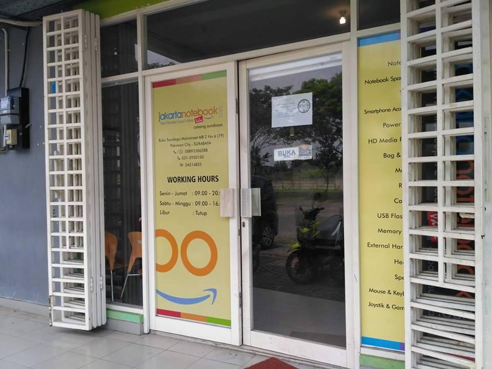 Pengalaman Belanja Online di Jakartanotebook Surabaya
