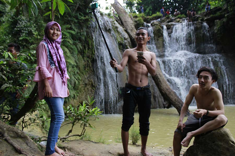 air terjun bongok tuban