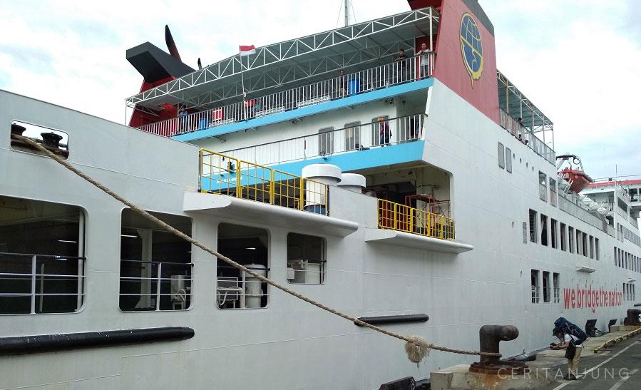 Cara Membeli Tiket Kapal Surabaya-Lombok (Lembar) KMP Legundi