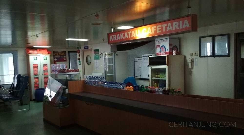 Fasilitas Kapal Legundi Surabaya-Lombok Cafetaria