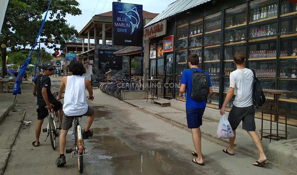 Backpacker Nyasar di Pantai Gili Trawangan Lombok