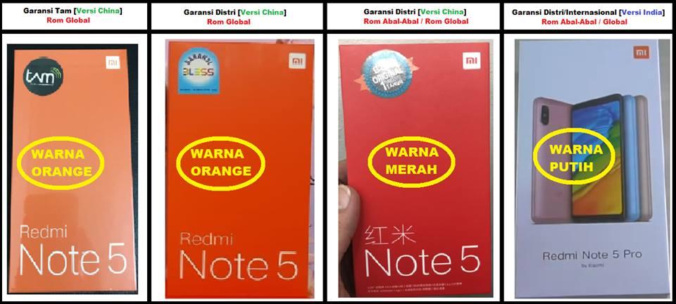 perbedaan box merah dan orange xiaomi