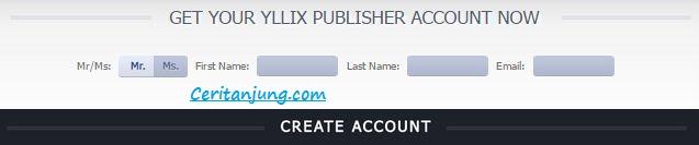 Cara Daftar dan Pasang Iklan Yllix