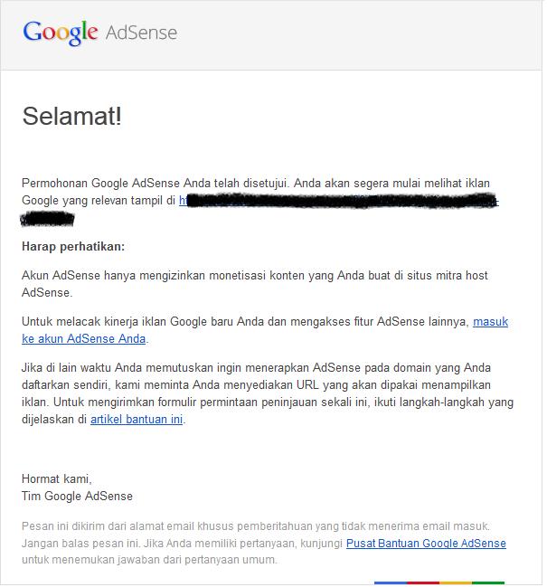 Cara Daftar Google Adsense dengan Blog