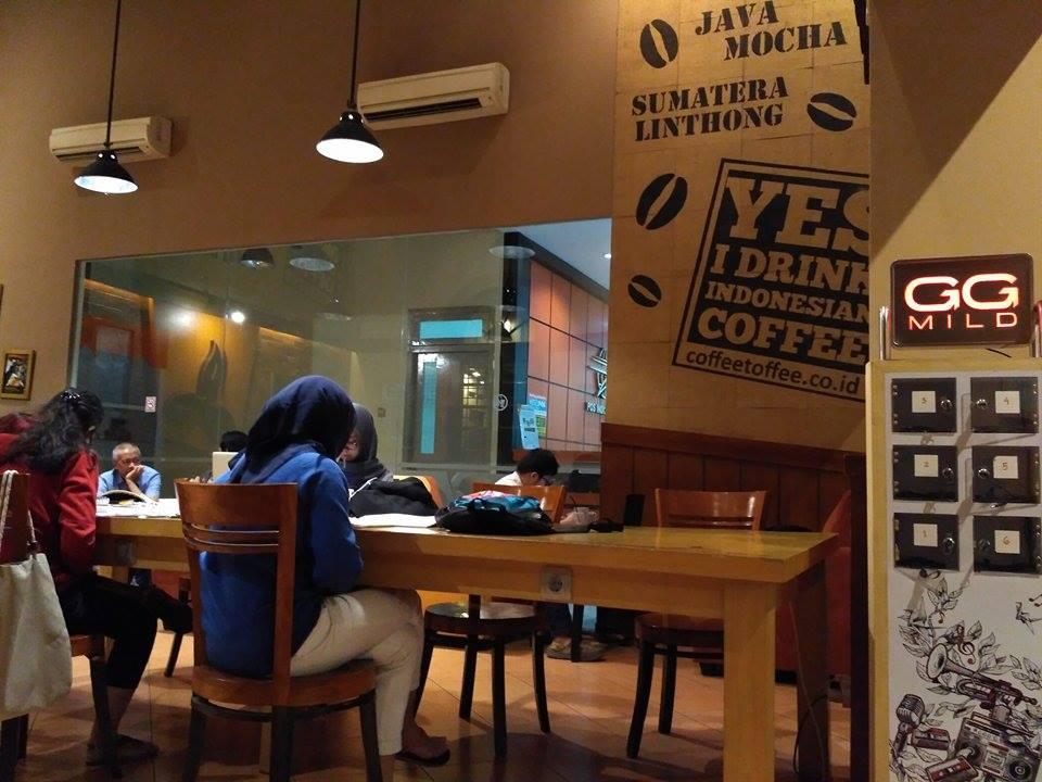 coffe toffee post shop taman apsari surabaya