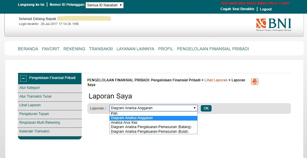 laporan keuangan bni