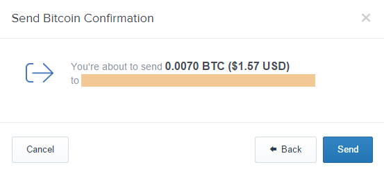 cara transfer bitcoin