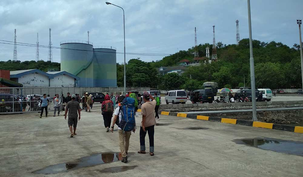 Fasilitas Kapal Legundi Surabaya-Lombok Pelabuhan Lembar