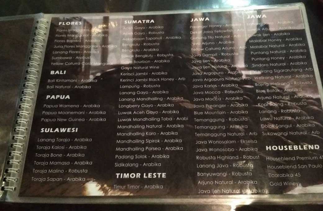 45 Coffeshop Graha Kopi Nusantara