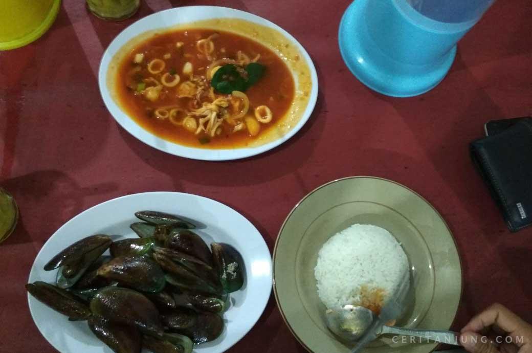 Seafood Tiga Belas Selera Bos Harga Anak Kos