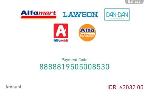 bayar aliexpress dengan doku alfamart