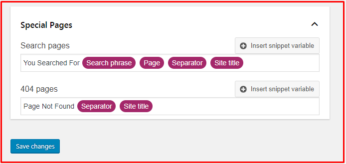 Search Appearance - Yoast SEO Archives 2