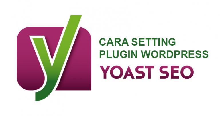 cara setting yoast