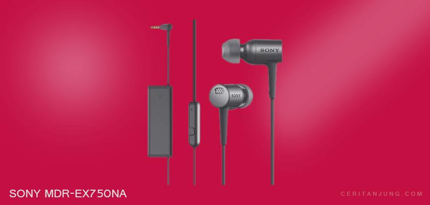 Sony Earphone MDR-EX750NA