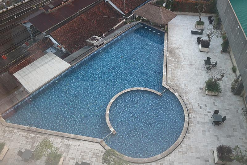 Kolam Renang The Balava Hotel