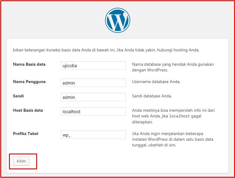 setup wordpress offline