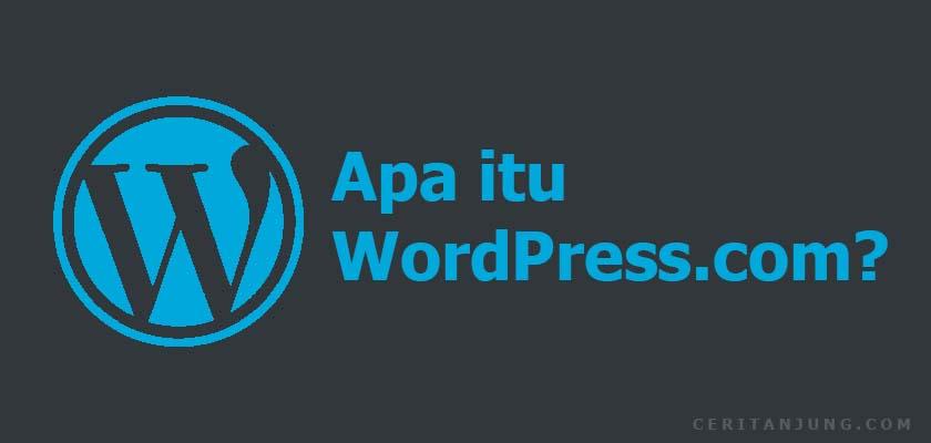 wordpress.com adalah
