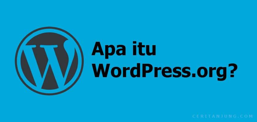 wordpress.org adalah