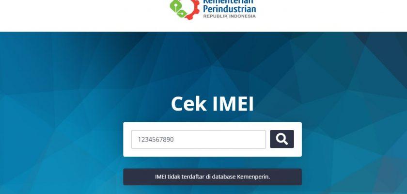Bagaimana Jika IMEI Tidak Terdaftar di Kemenperin