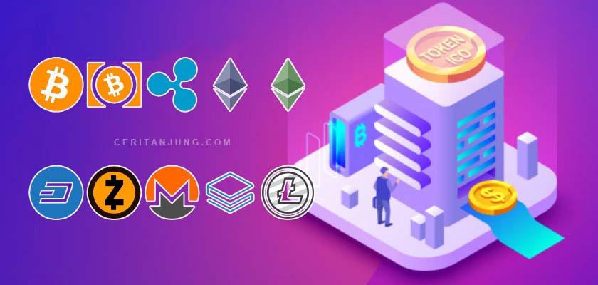 5 Cryptocurrency Terbaik Untuk Investasi di Tahun 2019