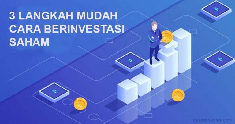3 langkah mudah cara investasi saham online bagi pemula