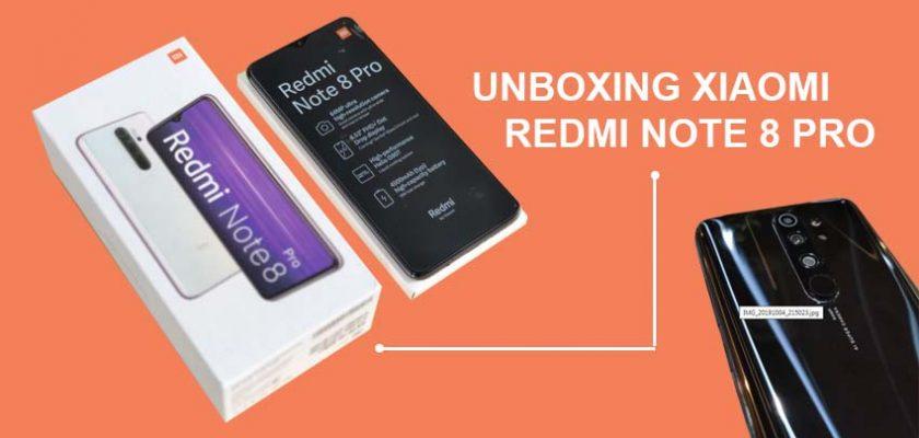 Unboxing Xiaomi Redmi Note 8 Pro Indonesia, Kamera 64 Megapiksel Mediatek