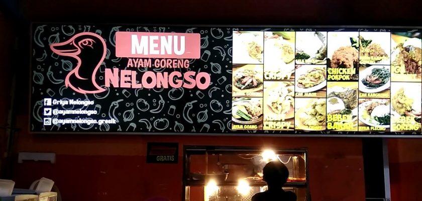 Sambal Teri Hot! Ayam Goreng Nelongso Gresik