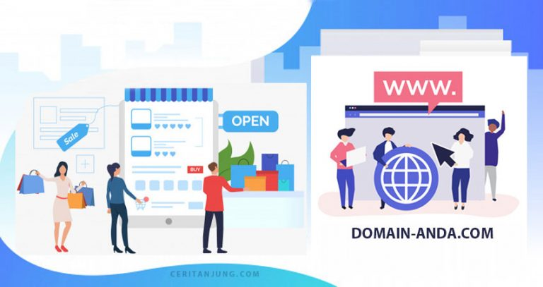 Ayo Buat Toko Online dengan Domain Sendiri