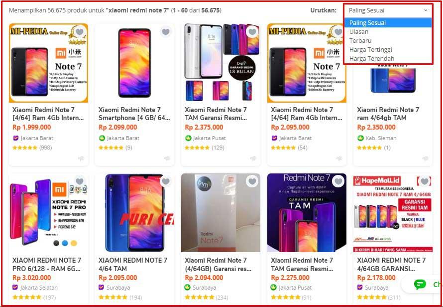 Harga Penjualan Marketplace Tidak Masuk Akal