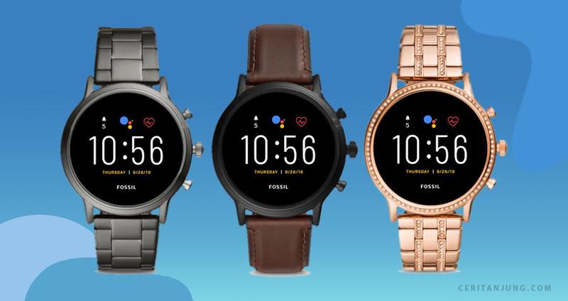 Olahraga Lebih Oke Stylish dengan Fossil Gen 5 Smartwatch