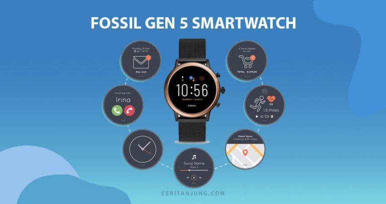 Olahraga Lebih Oke dan Stylish dengan Fossil Gen 5 Smartwatch