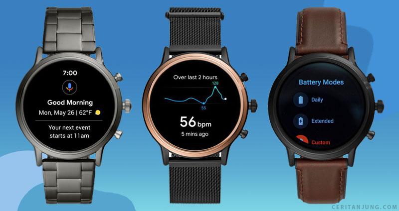 fitur jam tangan fossil gen 5 smartwatch