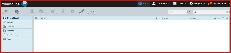 membuat email dengan hosting