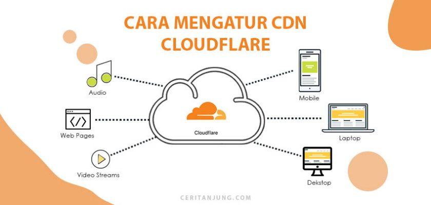 cara mengatur cdn gratis untuk wordpress dari CloudFlare