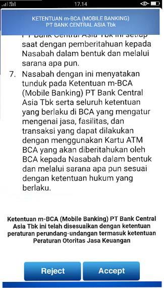 daftar bca mobile lewat hp