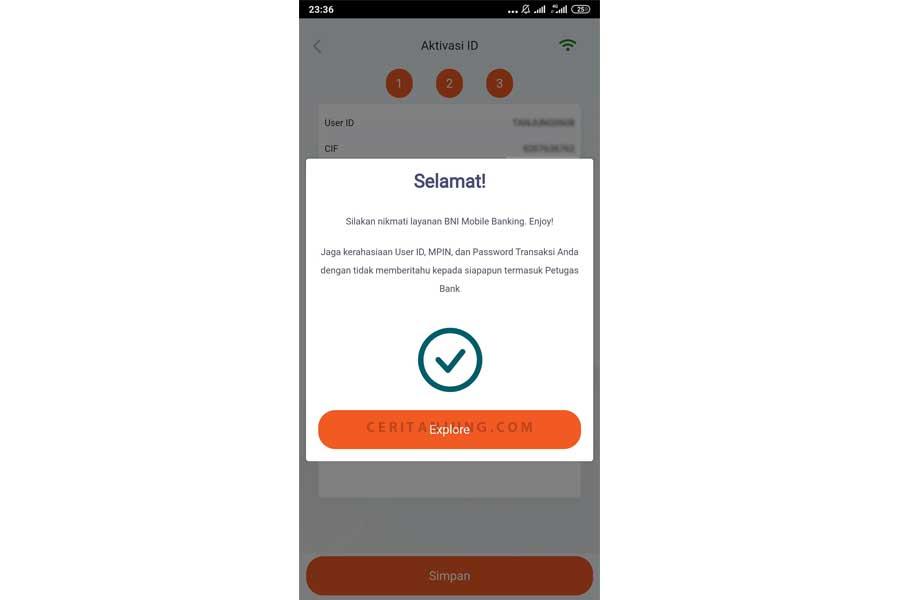 cara daftar mobile banking bni tanpa harus ke bank lengkap