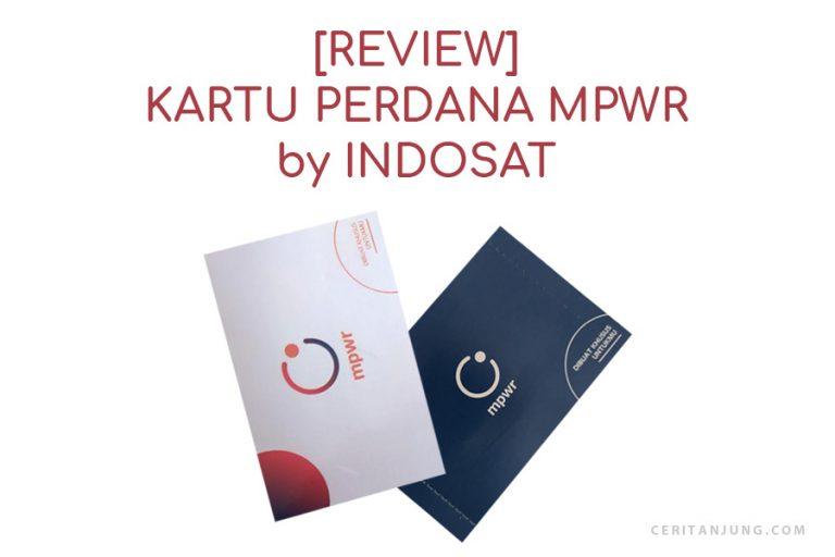 Review 1 Bulan Menggunakan Kartu MPWR Indosat Bikin Move On dari by.U
