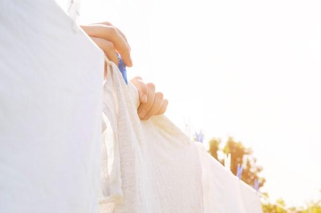 parfum pakaian baju terlalu dijemur
