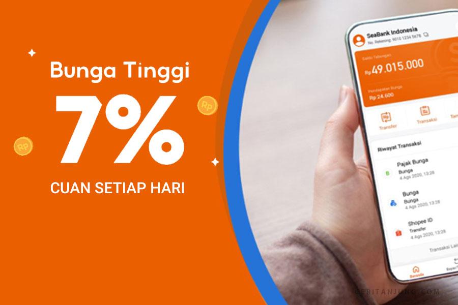 Review SeaBank Tiap Hari Cuan Dari Bank Digital SeaBank